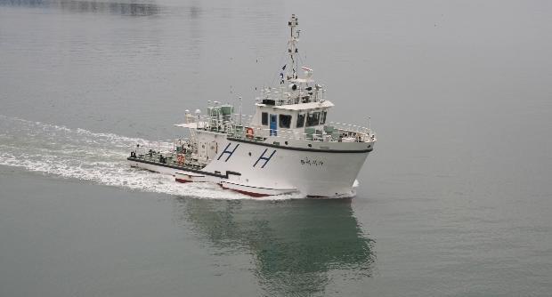 볼라시가호 선박 ⓒ해양조사원