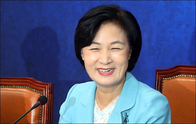 추미애 법무부 장관 후보 지명자(자료사진). ⓒ데일리안 박항구 기자