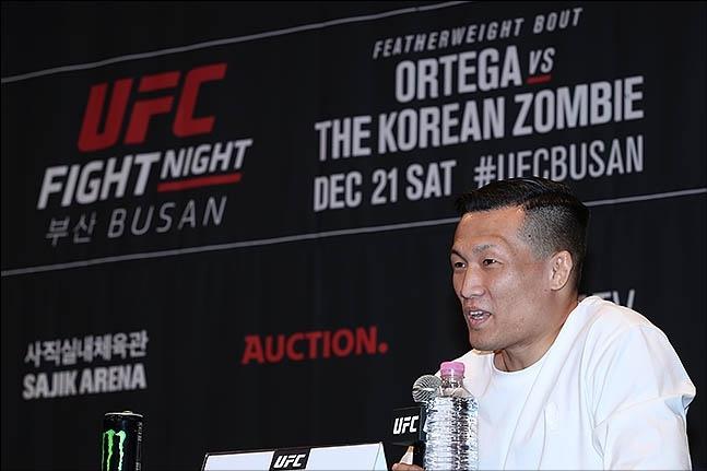 [UFC 부산] 정찬성 상대 오르테가가 부상으로 인해 오는 21일 부산 대회에 참가하지 못하게 됐다. ⓒ 데일리안 류영주 기자