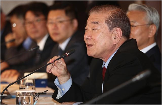문정인 대통령 통일외교안보특별보좌관 ⓒ데일리안 홍금표 기자