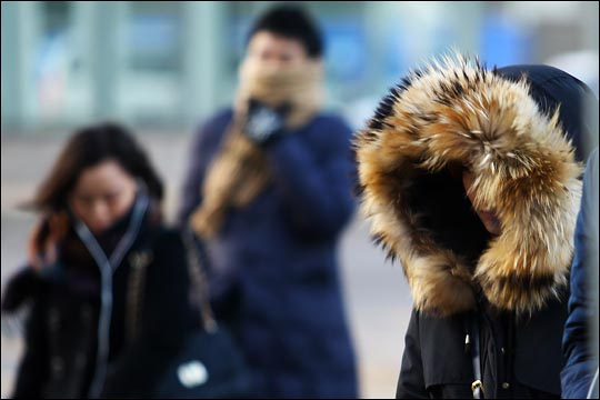 7∼8일 아침 기온이 전국 곳곳에서 평년보다 낮은 영하권을 보이면서 춥겠다. ⓒ데일리안