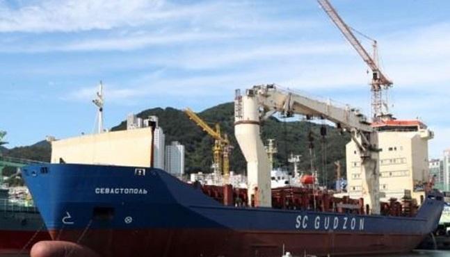 미국 제재 대상에 오른 러시아 선박