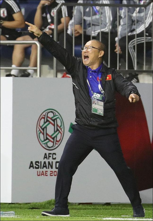 캄보디아를 꺾고 결승에 오른 박항서 감독의 베트남. ⓒ 뉴시스