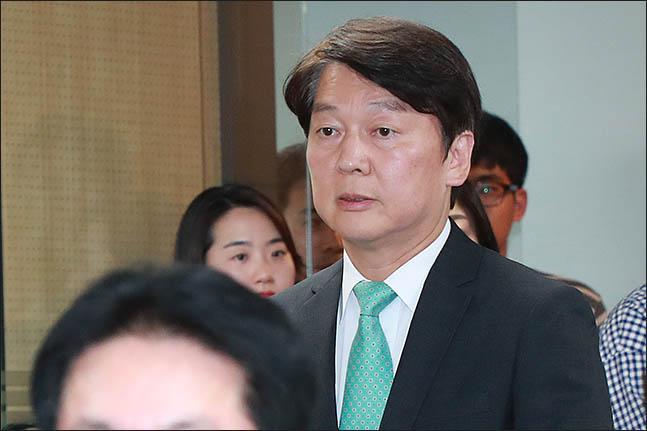 안철수 전 의원의 모습. ⓒ데일리안 류영주 기자