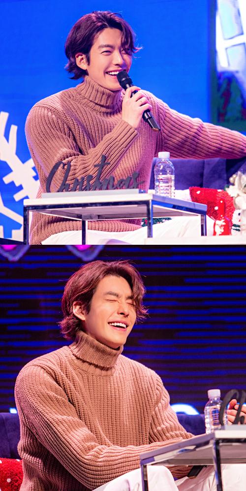 김우빈이 오랜만에 팬미팅을 통해 팬들과 소통했다. ⓒsidushq