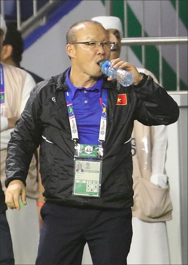 동남아시안(SEA) 게임서 베트남에 60년 역사상 처음으로 금메달 안긴 박항서 감독. ⓒ 뉴시스