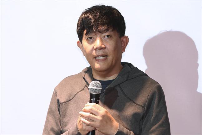 타다 서비스를 운영하는 VCNC의 모기업 쏘카의 이재웅 대표가 지난 2월 21일 오전 서울 성동구 체인지메이커스에서 열린