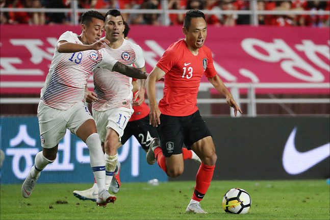 문선민은 이번 시즌 K리그1에서 10골-10도움으로 한국 선수로는 8년 만에 한 시즌