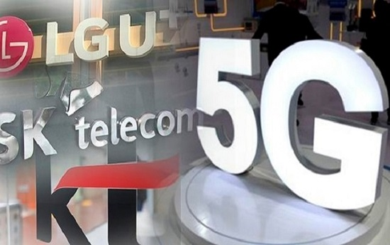 5G 상용화로 수혜가 예상됐던 국내 이동통신 3사 주가가 1년째 침체를 이어가고 있다.ⓒ연합뉴스
