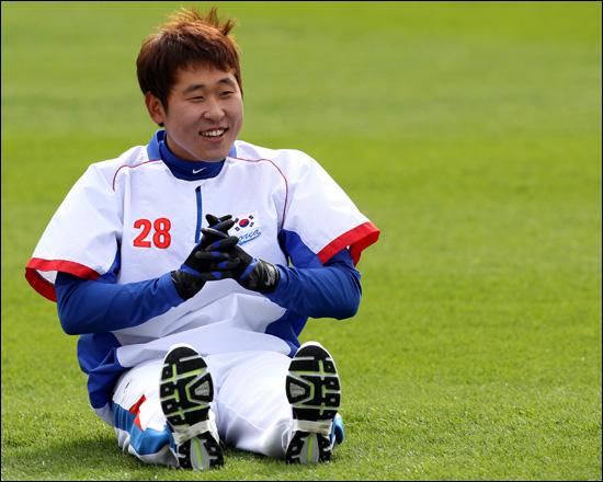 윤석민은 2008년 베이징 올림픽 금메달을 시작으로 2009년 제2회 월드베이스볼클래식(준우승), 2010년 광저우 아시안게임(금메달) 등 국제대회에서 보직을 가리지 않고 맹활약했다. ⓒ 연합뉴스