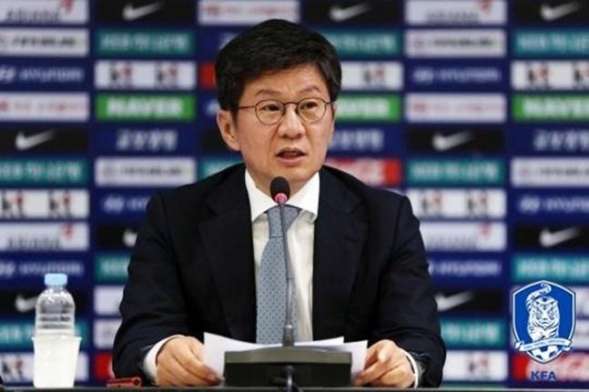 대한축구협회(KFA)가 남북관계 및 FIFA의 달라진 대회 운영 방식으로 인한 국내법 저촉 문제 등으로 2023 FIFA 여자월드컵 유치 신청을 철회하게 됐다. ⓒ 대한축구협회