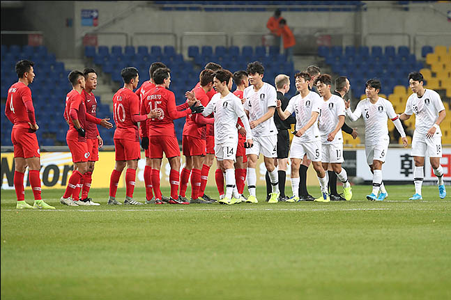 지난 11일 부산 아시아드주경기장에서 열린 홍콩과의 동아시안컵 1차전에서는 총 1070명의 관중만이 경기장을 찾았다. ⓒ 데일리안 류영주 기자