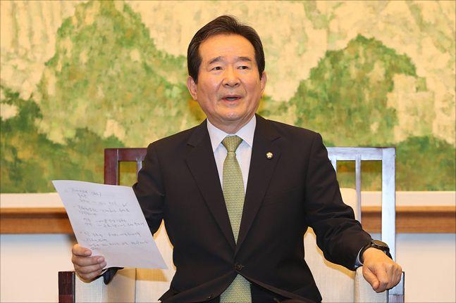 더불어민주당 6선 중진 정세균 의원(자료사진). ⓒ데일리안 홍금표 기자