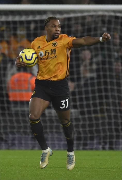 울버햄튼 트라오레가 30일 리버풀전에서도 눈부신 활약을 펼쳤다. ⓒ 뉴시스