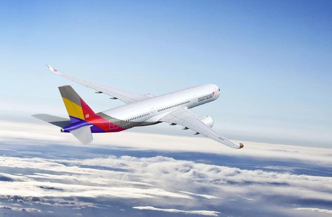 아시아나항공 항공기 이미지.ⓒ아시아나항공