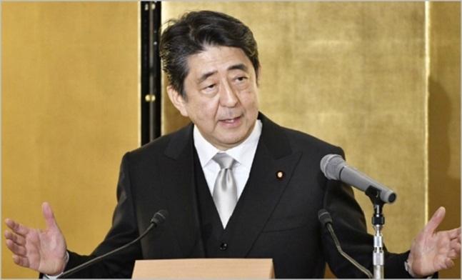 아베 신조 일본 총리.ⓒ연합뉴스