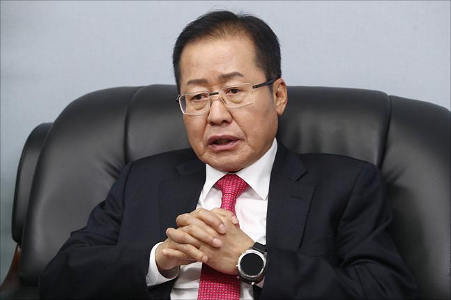 홍준표 전 자유한국당 대표. ⓒ데일리안 홍금표 기자