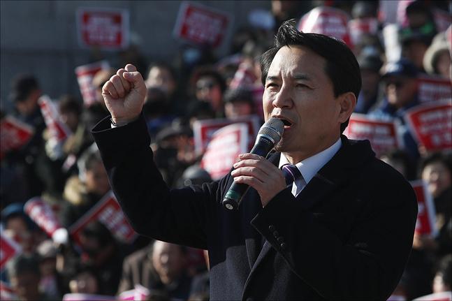 김진태 자유한국당 의원. ⓒ데일리안 홍금표 기자