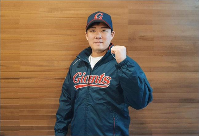 롯데 자이언츠 유니폼을 입은 안치홍. ⓒ 롯데 자이언츠