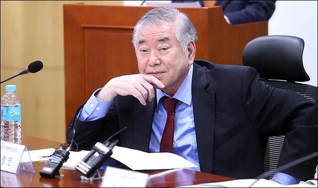 문정인 대통령 통일외교안보특별보좌관. ⓒ데일리안 박항구 기자