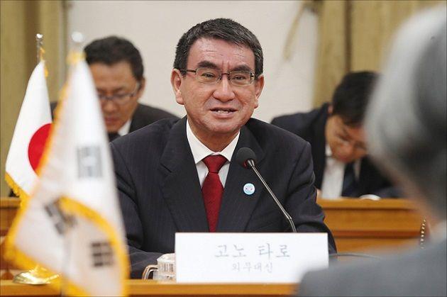 고노 다로 일본 방위상 ⓒ데일리안 홍금표 기자