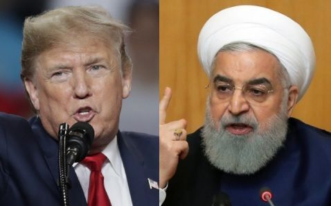 도널드 트럼프 미국 대통령(왼쪽과 하산 로하니 이란 대통령.@데일리안