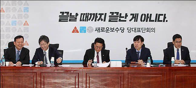 새로운보수당 당대표단회의 ⓒ데일리안 박항구 기자