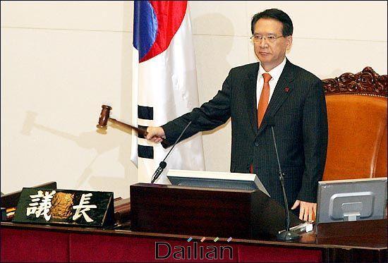 자유한국당 공천관리위원장으로 선임된 김형오 전 국회의장. ⓒ데일리안 박항구 기자