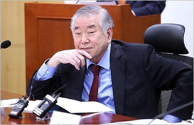 문정인 대통령 통일외교안보특별보좌관, ⓒ데일리안 박항구 기자