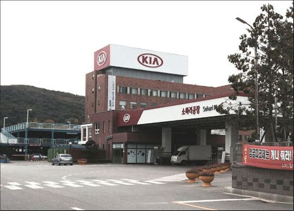 경기도 광명시 소하동 기아차 소하리 공장. ⓒ데일리안 박영국 기자