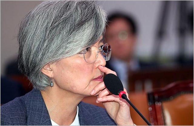 강경화 외교부 장관 ⓒ데일리안 박항구 기자
