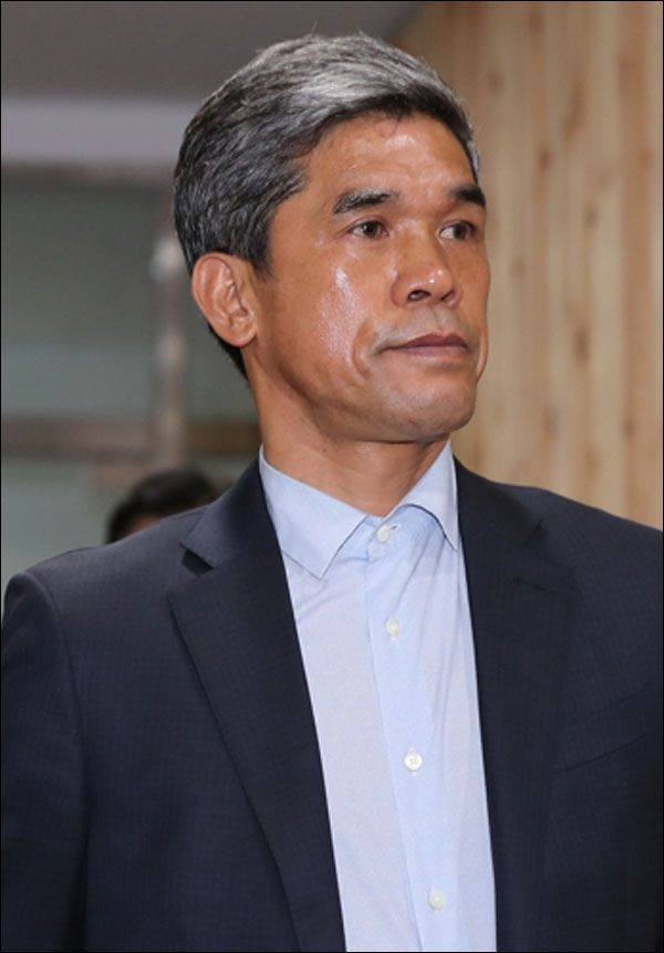 횡령 및 성폭행 의혹을 받고 있는 정종선(54) 전 한국고등학교축구연맹 회장. ⓒ 연합뉴스