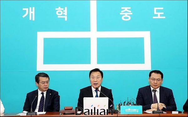 손학규 바른미래당 대표가 6일 오전 국회에서 열린 최고위원회의에서 모두발언을 하고 있다. ⓒ데일리안 박항구 기자
