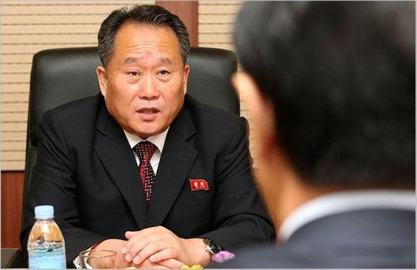 리선권 북한 조국평화통일위원장 ⓒ데일리안 박항구 기자