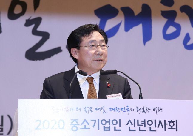 김기문 중기중앙회장 ⓒ중소기업중앙회