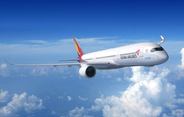 아시아나항공 A350 항공기ⓒ아시아나항공