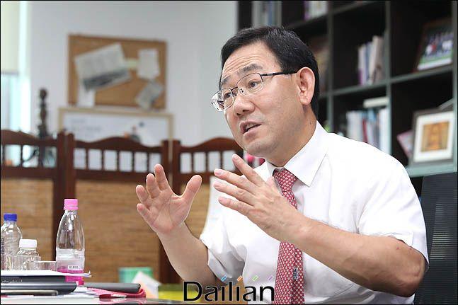 주호영 자유한국당 의원ⓒ데일리안 박항구 기자