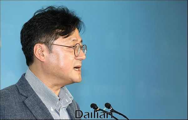 홍익표 더불어민주당 수석대변인. ⓒ데일리안 박항구 기자