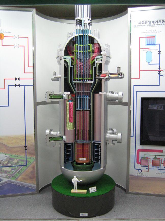 한국원자력연구원이 개발한 한국형 소형원전 '스마트(SMART)'.ⓒ한국원자력연구원