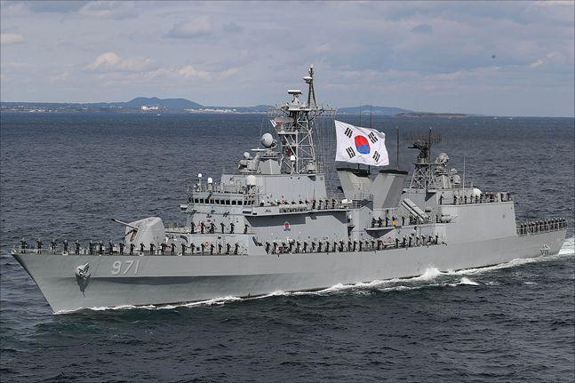 광개토대왕함(자료사진) ⓒ데일리안 홍금표 기자