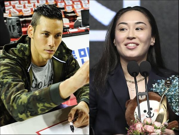 농구선수 이승준이 김소니아와의 열애 사실을 고백했다. ⓒ KBL/뉴시스