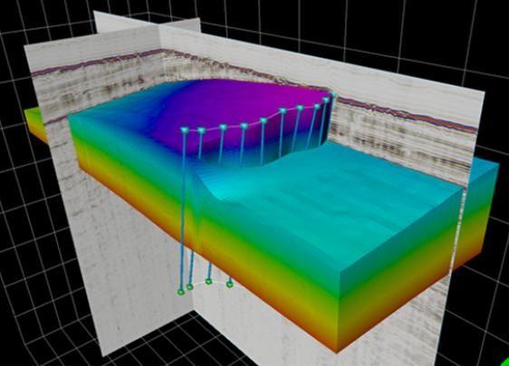 신기술을 적용한 3D 탄성파탐사 결과, 동해 단층 3D Cube ⓒ해수부