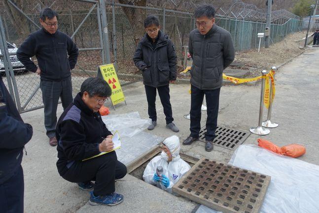 한국원자력연구원은 원인 분석을 위해 내부 정밀조사를 진행하고 있다.ⓒ한국원자력연구원