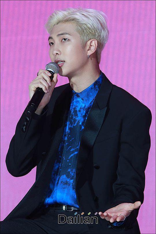 방탄소년단 RM이 한음저협 정회원으로 승격됐다. © 데일리안류영주기자