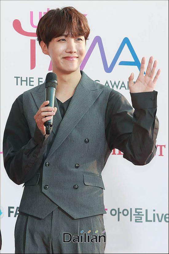 방탄소년단 제이홉이 한음저협 정회원으로 승격됐다. © 데일리안류영주기자