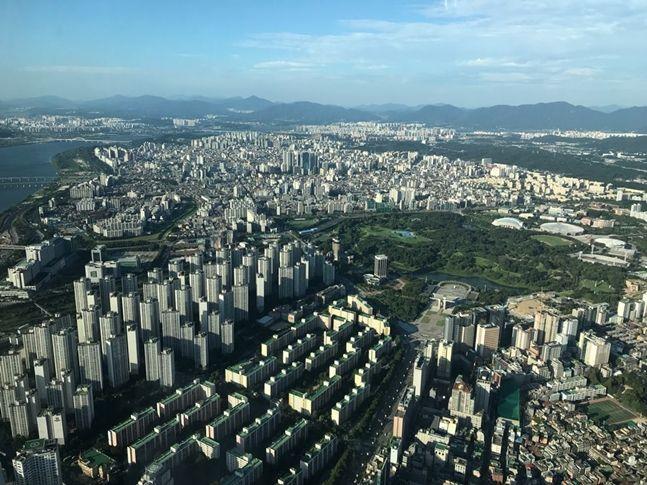 서울 아파트 전경. ⓒ데일리안 권이상 기자