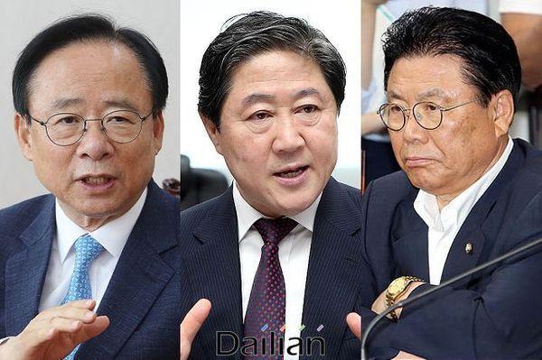 경남 마산합포 이주영·부산 유기준·울산 박맹우 자유한국당 의원(사진 왼쪽부터). ⓒ데일리안