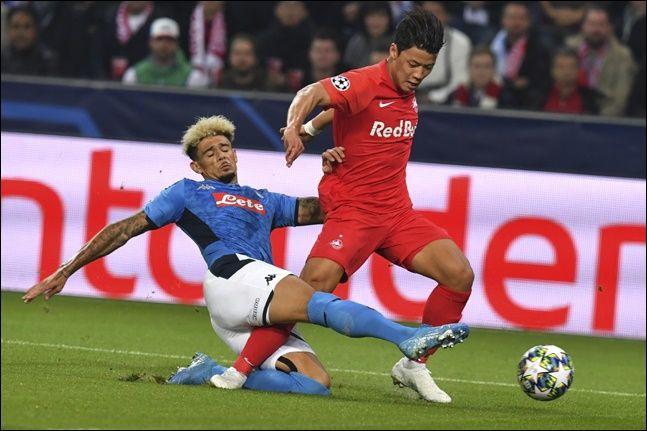 황희찬이 더욱 자신의 가치를 높이려면 UEFA 유로파리그에서의 활약이 중요하다. ⓒ 뉴시스
