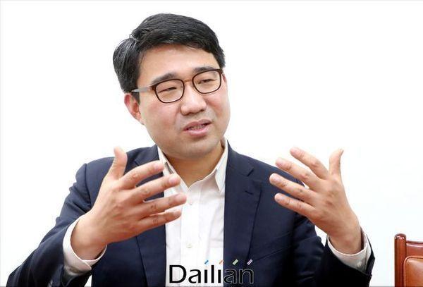 원영섭 자유한국당 조직부총장이 지난 22일 국회에서 데일리안과 인터뷰를 갖고 있다. ⓒ데일리안 박항구 기자