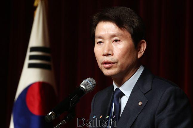 이인영 더불어민주당 원내대표(자료사진). ⓒ데일리안 홍금표 기자